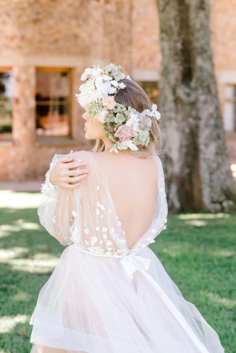 tulle-wedding-dress-back-detail