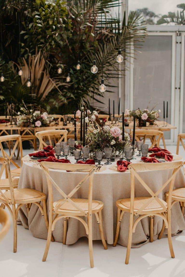 contemporary-coastal-chic-wedding-reception-décor