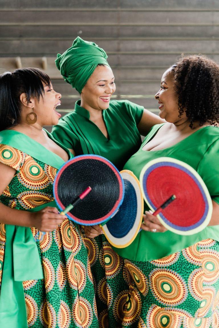 african-shweshwe-bridesmaid-dresses