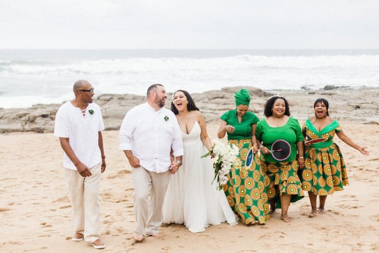 african-beach-destination-wedding-bridal-party