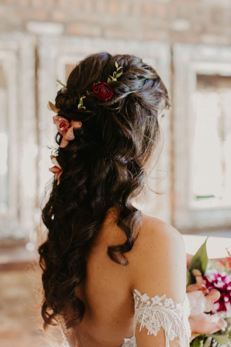 bride-with-flowers-in-hair