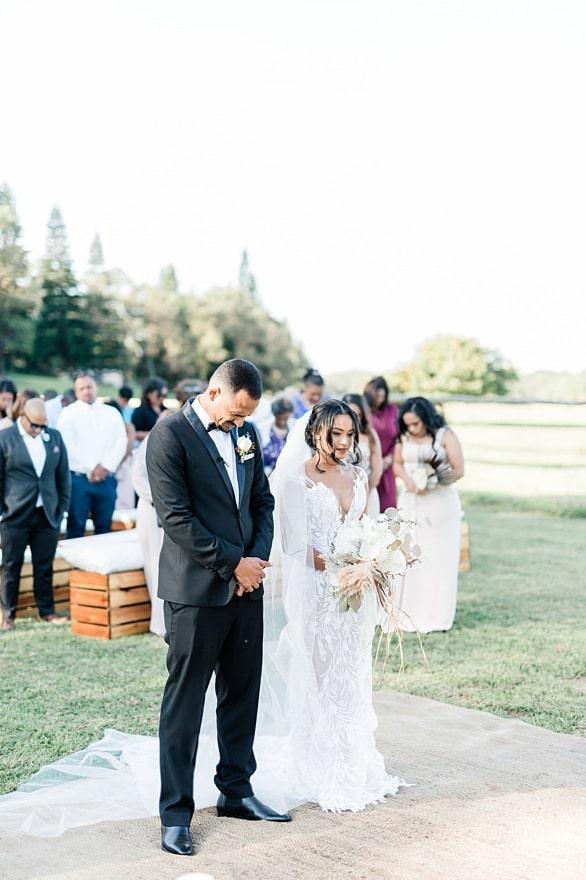 the venue Fontana wedding ceremony
