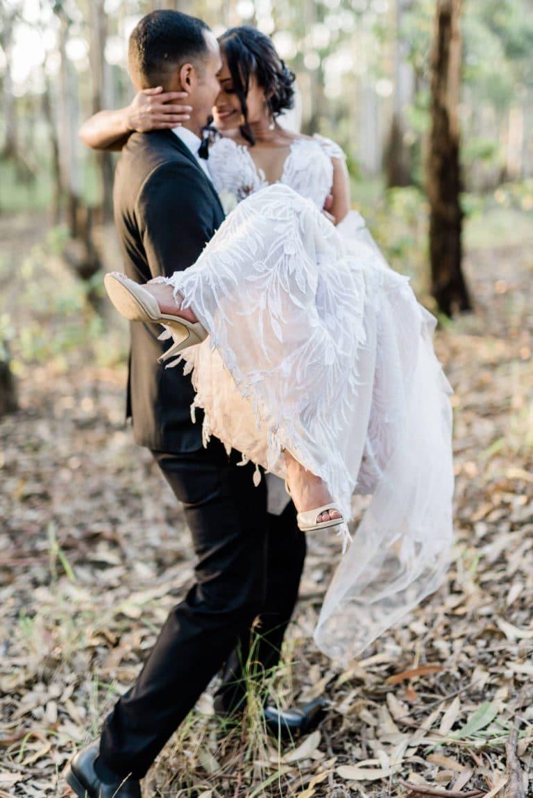 coastal forest couple shoot the venue Fontana