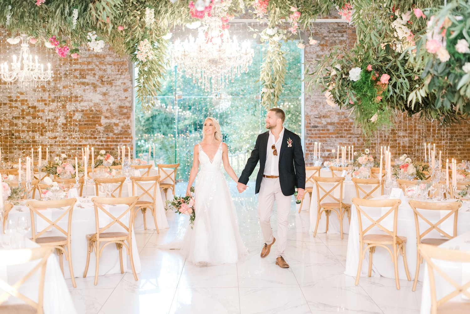 WEDDING VENUE TOURS: BEFORE, DURING AND AFTER