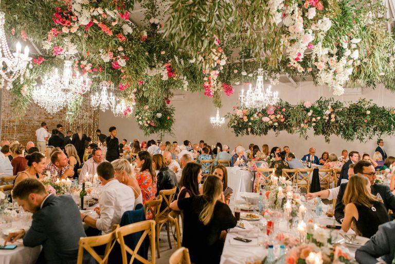 la paris wedding reception