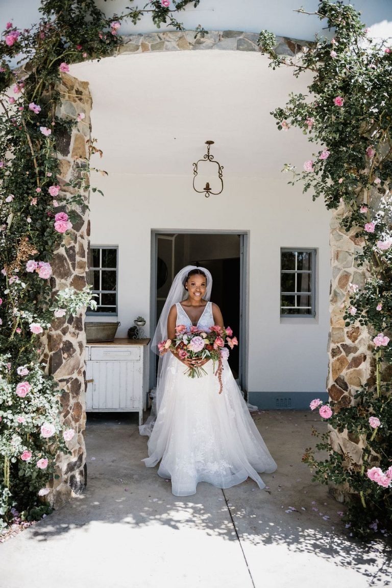 the groves wedding bride