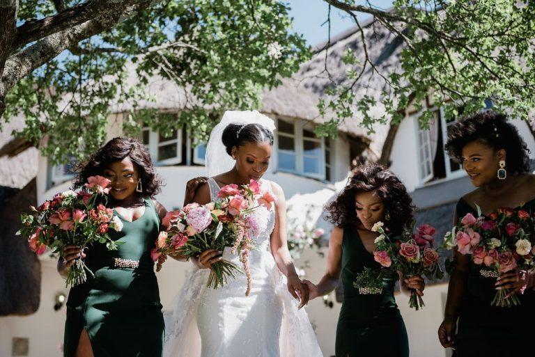 the groves wedding bridesmaids