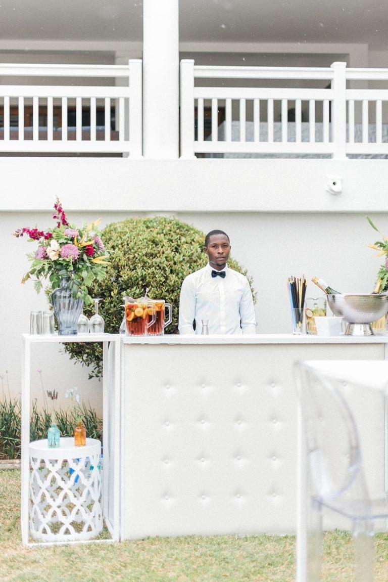 at-home wedding bar